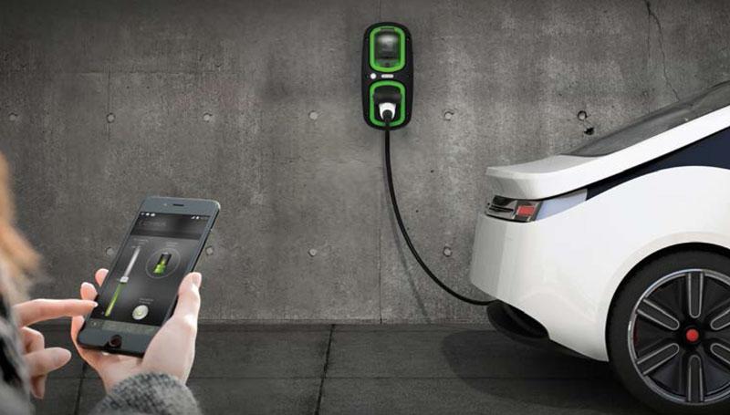 EV Smart Charging Vehicle