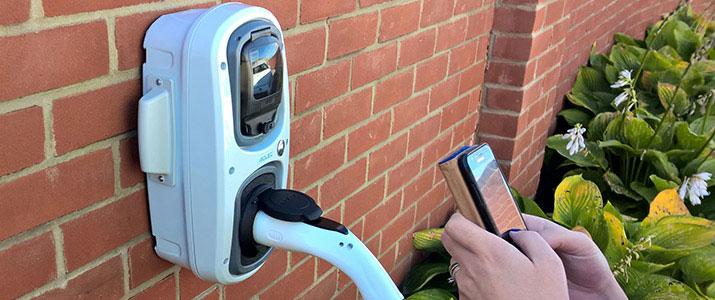 Smart EV Charge Point Socket