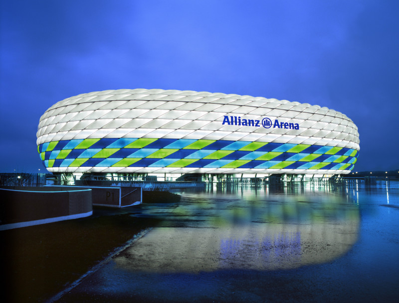 Iconic Allianz Arena to Slash Energy Usage by 60 Per Cent Thanks to LED Energy Savings