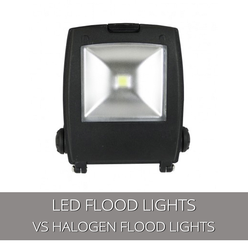 LED Flood Lights V Halogen Floodlights