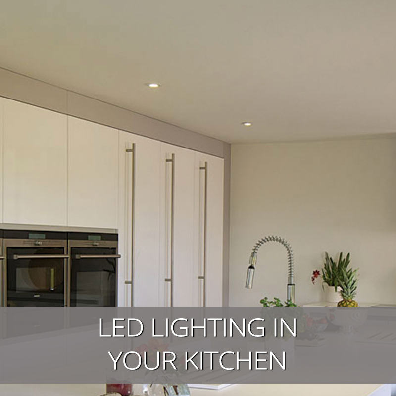 Make Your Kitchen Transcendent with LED