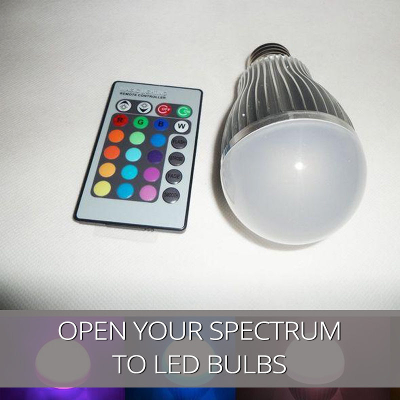Open Your Spectrum To LED Bulbs