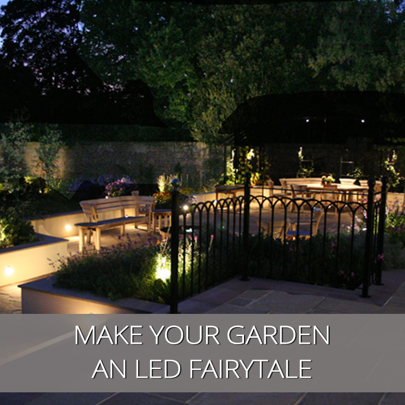 Make Your Garden An LED Fairytale
