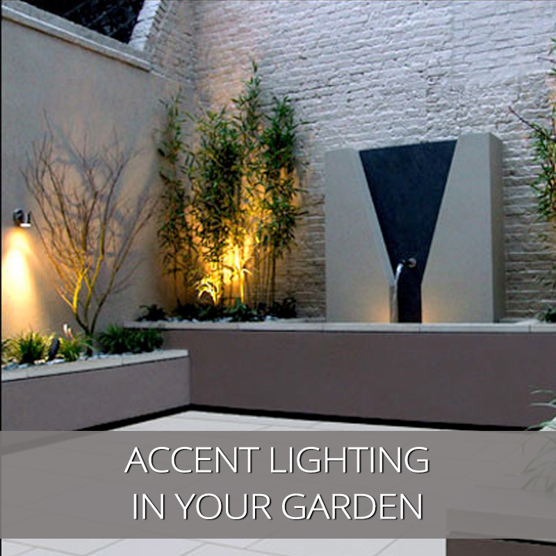 Accent Lighting In Your Garden